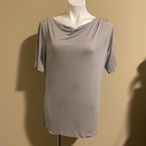 Talbots short sleeved cowl neck top size large
